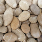 Pebble Product with Tan Motif