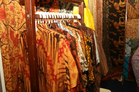 Sragen is the biggest batik production centers after Pekalongan and Solo