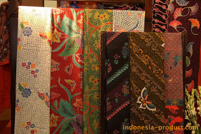 . You can choose your favorite of various batik items with many colors and motifs in export quality