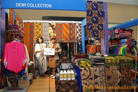 There are many handmade batik products here good quality and ethnic design.