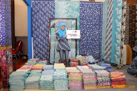 The most characteristic of Rajjas Batik is its pure blue color which rarely found in other areas