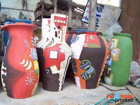 Pottery Handicraft From Lamongan Which Has Been Exported To Europe