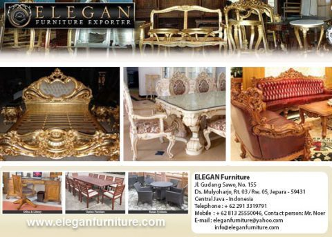 ELEGAN FURNITURE U2013 Manufacturer And Exporter Of Classic Indoor And Outdoor  Furniture From Indonesia