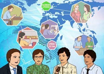 Komik Inspiratif – Ciptakan Peluang Usaha Hingga Merambah Pasar Dunia