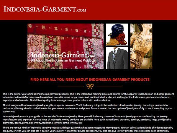 Garment Exporter, Indonesia, Jawa Timur, Surabaya