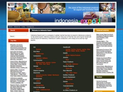Indonesia Export