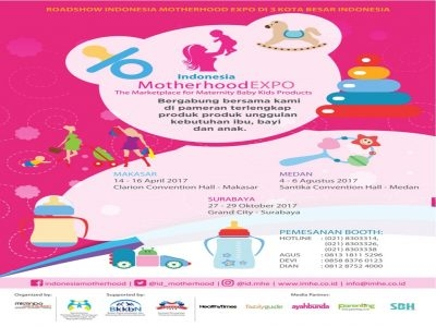 Indonesia Motherhood Expo Medan 2017