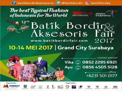 Batik Bordir & Aksesoris Fair 2017