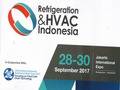 Refrigeration & HVAC Indonesia 2017