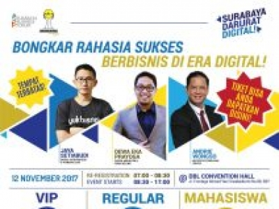 "Surabaya Business Forum 2017 ""Surabaya Darurat Digital"""
