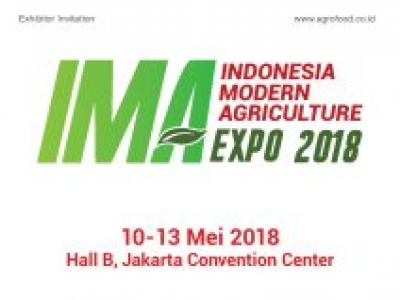 INDONESIA INTERNATIONAL MODERN AGRICULTURE EXPO 2018