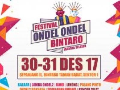 Festival Ondel Ondel Bintaro 2017