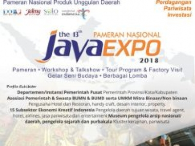 PAMERAN JAVA EXPO 2018