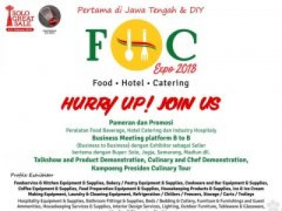 Food Hotel Catering Expo 2018