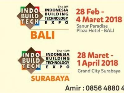 IndoBuildTech Bali 2018