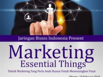 Marketing Essential Things 2018
