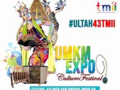UMKM Expo – Culture Festival TMII 2018