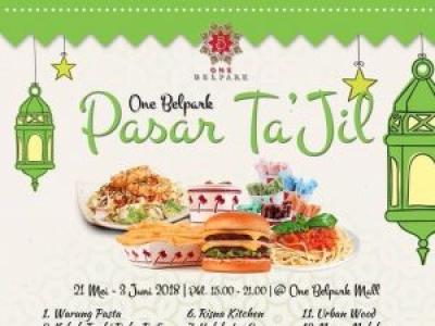 Pasar Ta'jil – One Belpark Mall 2018