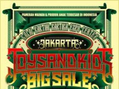 7th Jakarta Toys & Kids BigSale 2018