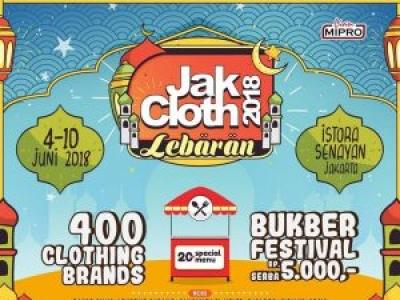 JakCloth Lebaran Jakarta 2018