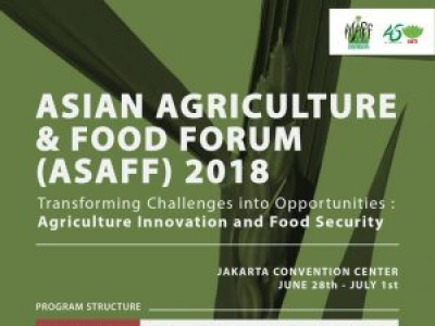 Asian Agriculture & Food Forum (ASAFF) 2018