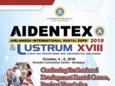 AIDENTEX - Airlangga International Dental Expo 2018