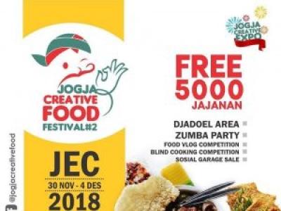 Jogja Creative Food Festival 2018