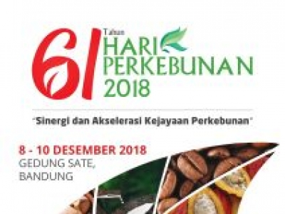 61 Tahun Hari Perkebunan 2018
