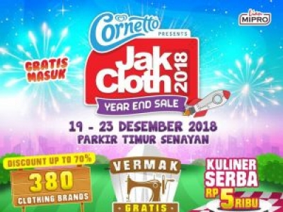 JakCloth Year End Sale 2018