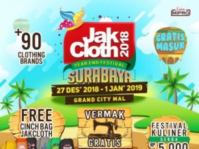 JakCloth Year End Sale Surabaya 2018
