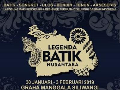 Legenda Batik Nusantara 2019
