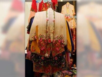 The Beautiful of Embroidery Kebaya Belong to Indonesia