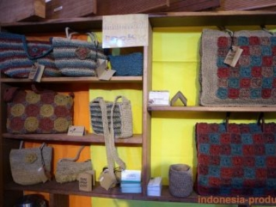 Various Kind of Water Hyacinth Crafts Products