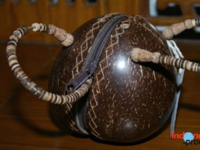 A Unique And Beautiful Coconut Shell Craft Appropriate To Be Your Crafts Collection