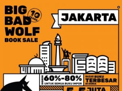 Big Bad Wolf Book Sale Jakarta 2019