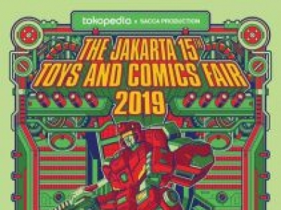 The Jakarta 15th Toys & Comics Fair 2019