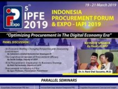 Indonesia Procurement Forum & Expo (IPFE) 2019