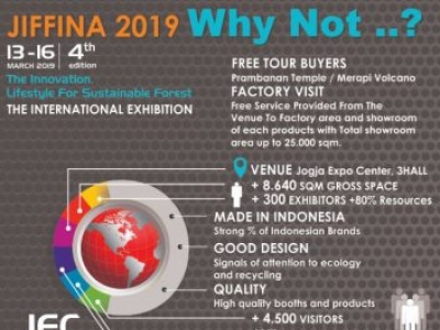JIFFINA 2019 Will Be Present Environmentally Friendly Products