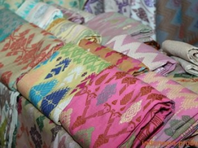 The Authentic Lombok Weaving Fabric Made by the Sasak Tribe
