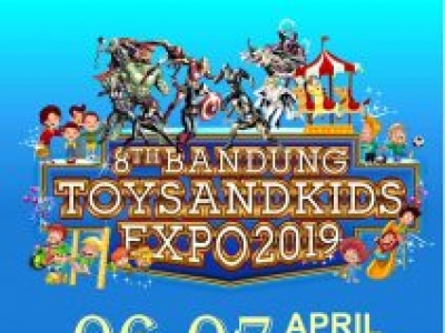 The 8th Bandung Toys & Kids Expo 2019