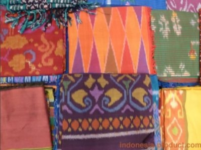 Weaving Fabrics in Indonesia Come in Various Motives