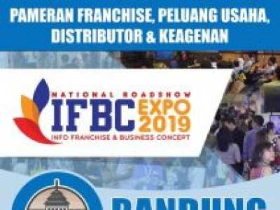 Info Franchise & Business Concept (IFBC) Bandung 2019