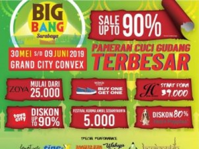 BIG BANG Surabaya 2019