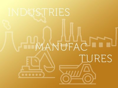Industries & Manufactures